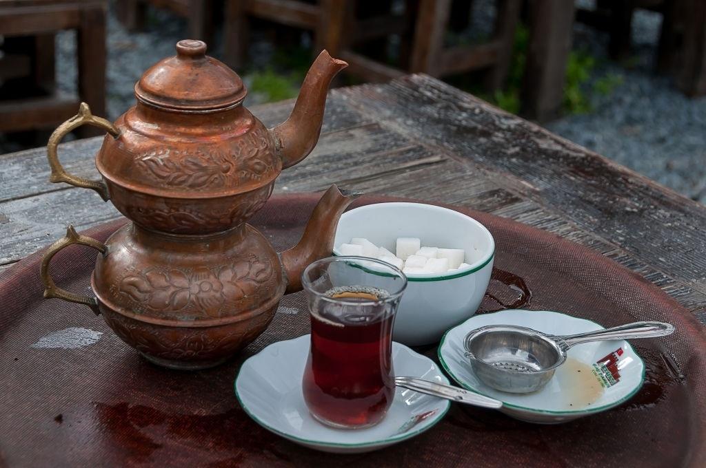 te turco desayuno
