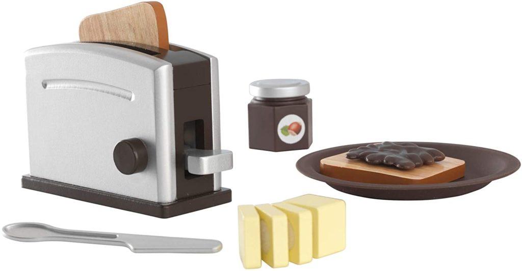 tostadoras de madera juguete