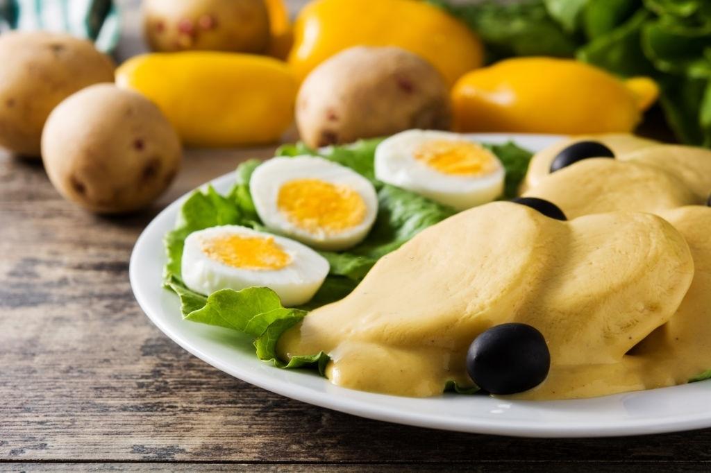 Tradicional receta de papas a la huancaína