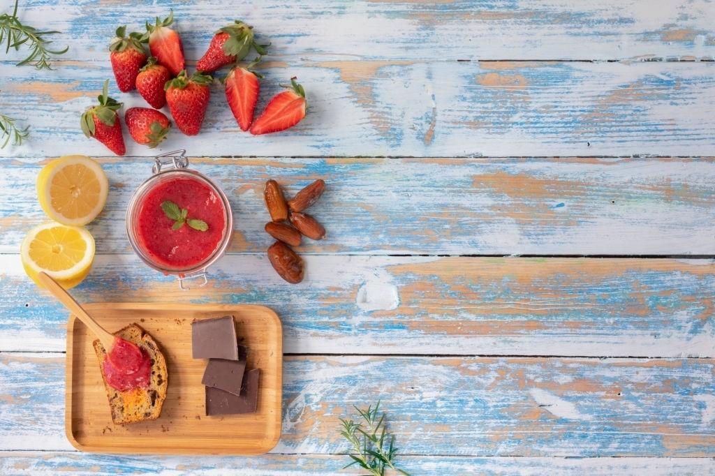 mermelada diabeticos fresa