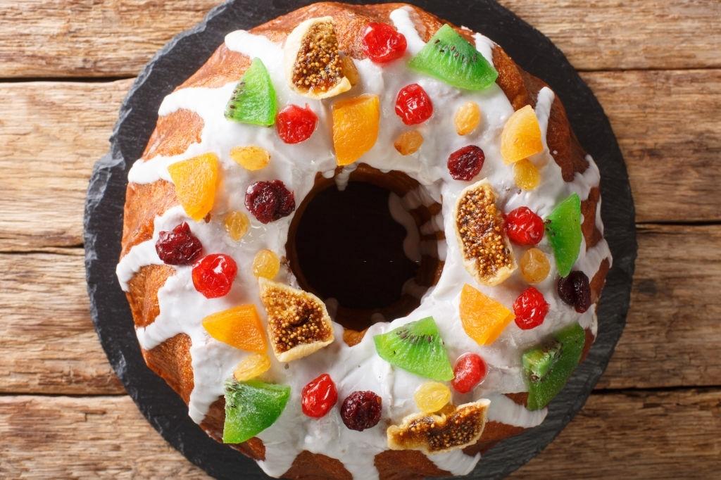 Bizcocho con Fruta Confitada |  El Relleno más famoso en Navidad