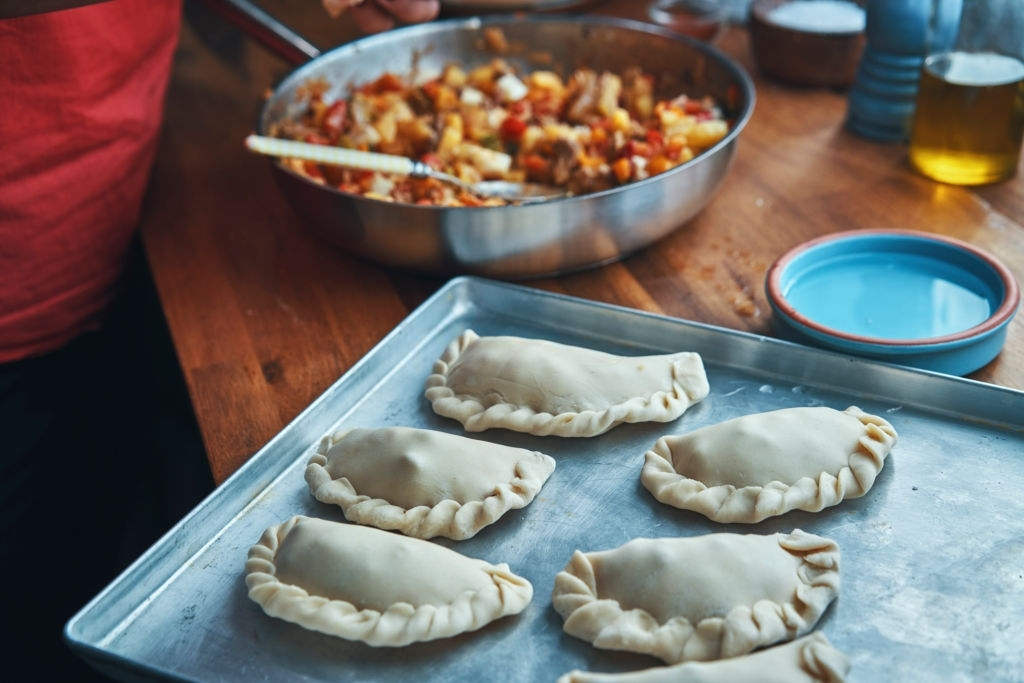 Empanadas Argentinas de carne y verduras variadas