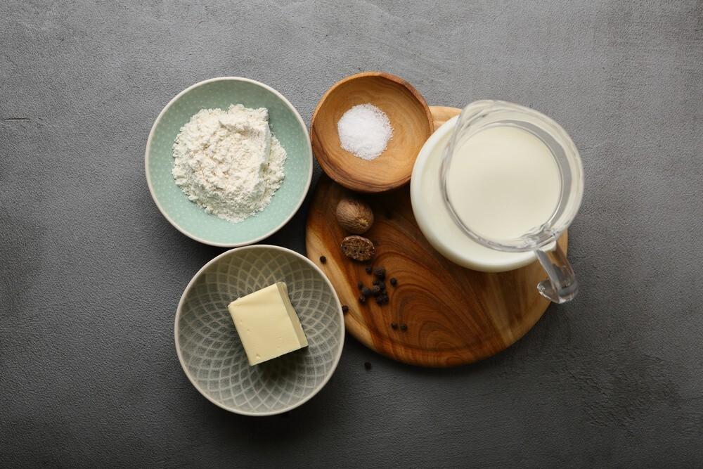 Ingredientes Bechamel sin grumos