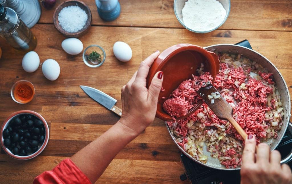 Ingredientes Receta de Empanadas Criollas Argentinas