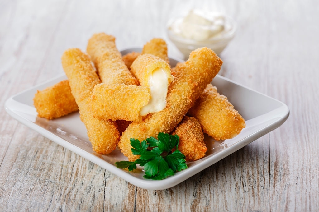 Palitos de queso para niños