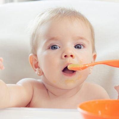 Puré de lentejas para bebés