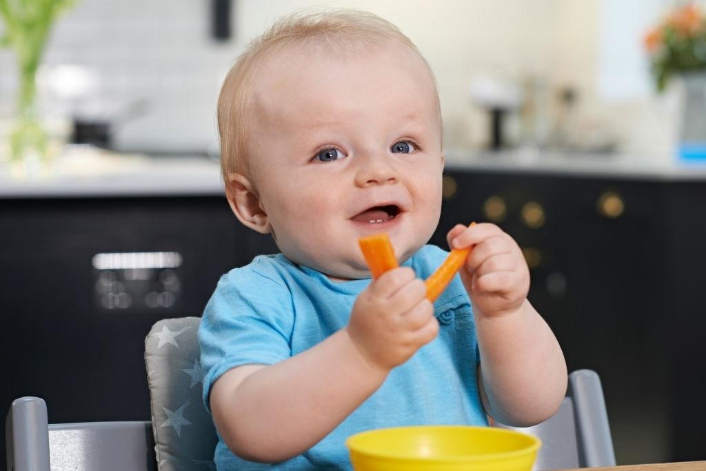 Zanahoria para bebés