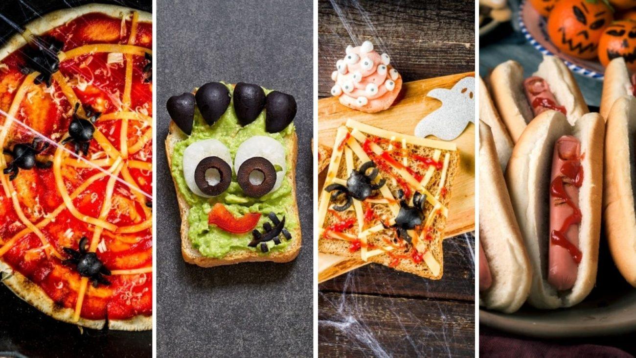 Comida de Halloween para Niños 🎃 👦 | +15 Recetas Fáciles y Divertidas