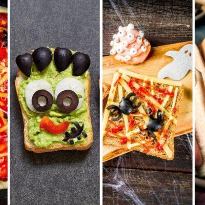 Comida de Halloween para niños