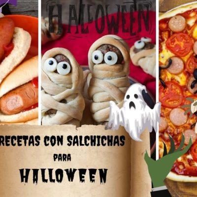 salchichas halloween