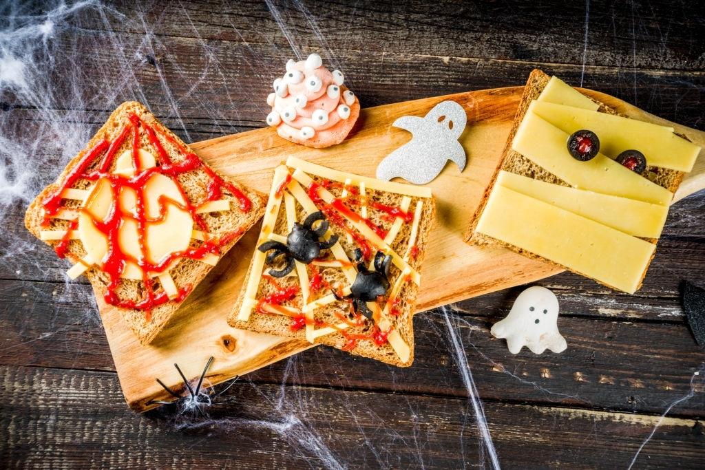 Sandwiches halloween