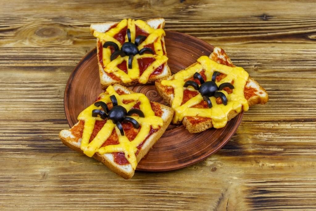 Sandwiches telaraña